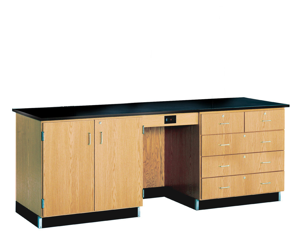 8' Instructor's Desk with Flat Top