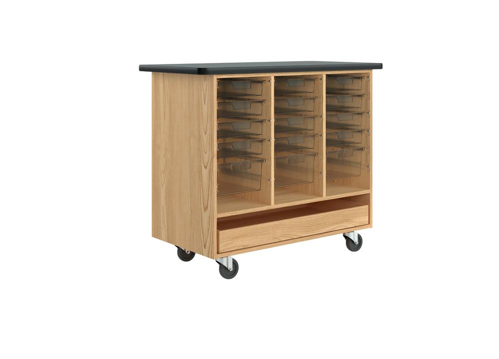 Open Tote Cabinet