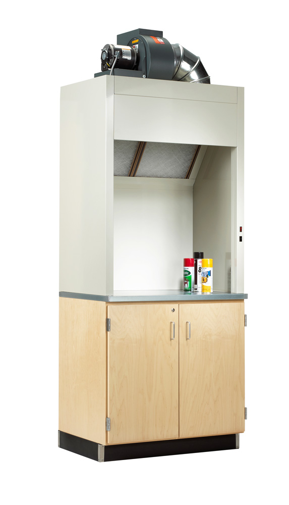 Painting Hood and Cabinet