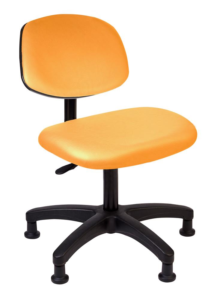Tech Chair - Orange (Desk Height)