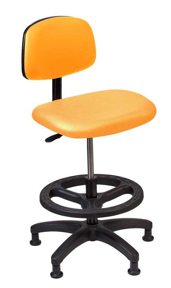 Tech Chair - Orange (Standing Height)