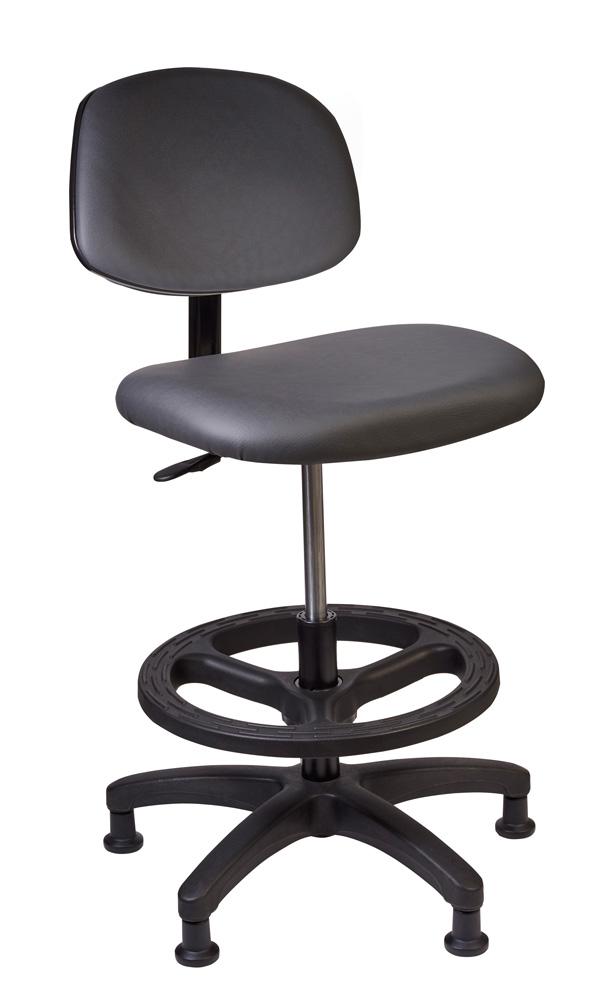 Tech Chair - Charcoal (Standing Height)