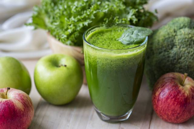 yoga green apple smoothie blender recipe