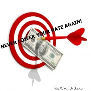 never lower your rate again