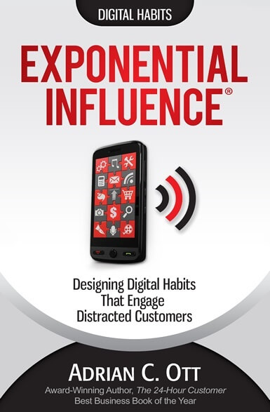 Are You Ready for Exponential Influence?  Adrian Ott's New Book Shows You How