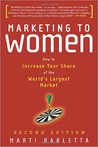 Marketing to Women book cover
