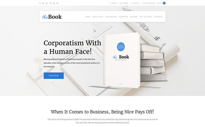 14 top rated wordpress themes for book stores and their avid readers