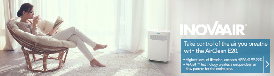 InnovaAir ad exemplifies comfortable living conditions