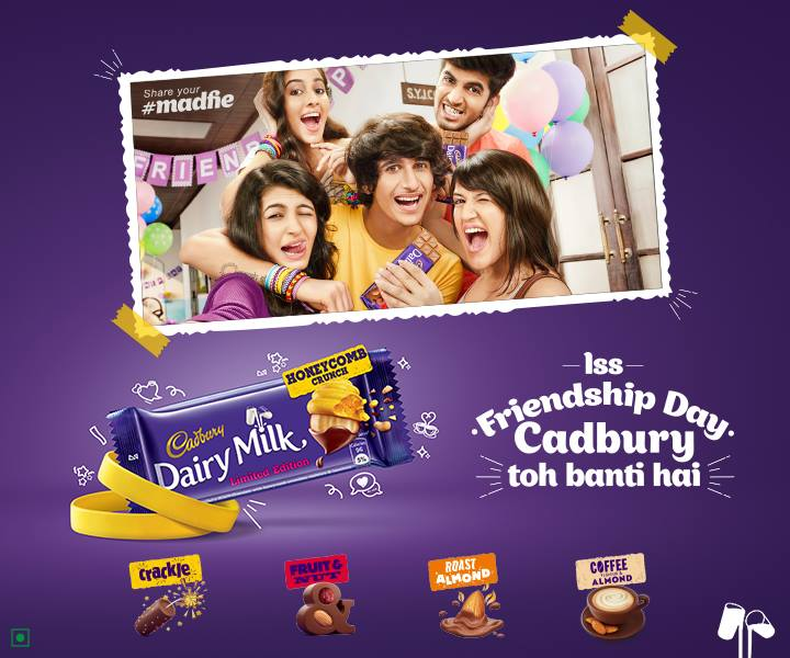 Cadbury Chocolates ad for Friendship Day