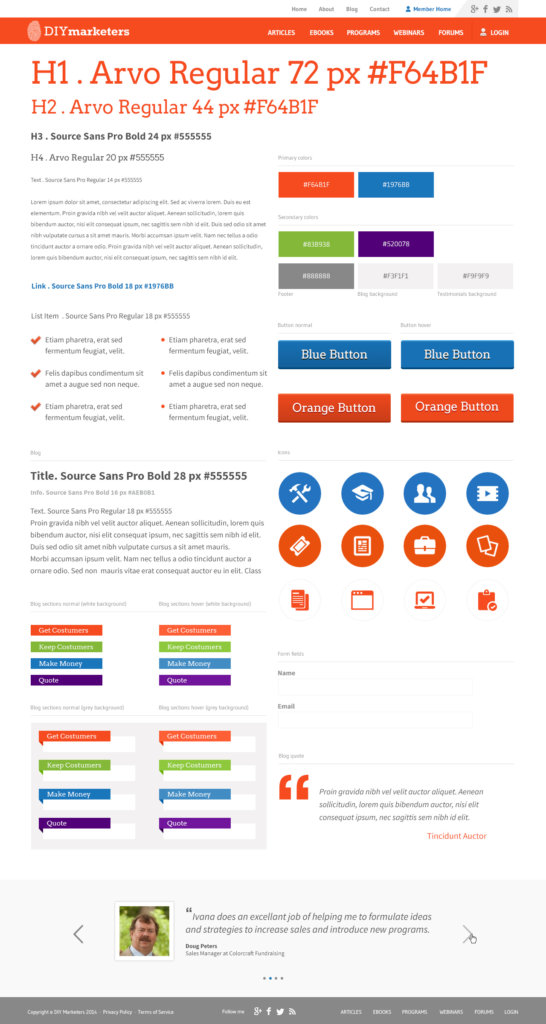 branding style guide example