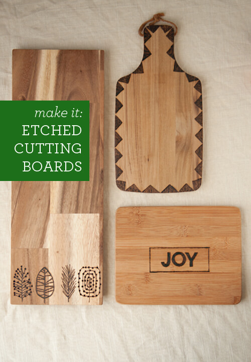 27 amazingly cute diy birthday gifts for friends ideas for Diy personalized wood cutting board