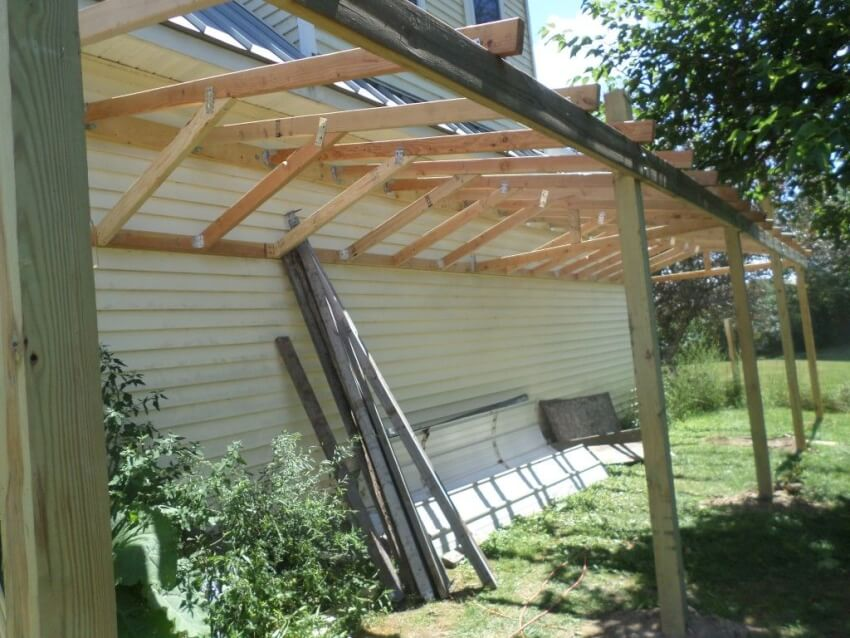 How To Build A Lean To Shed In 5 Easy Steps Diy Shareable
