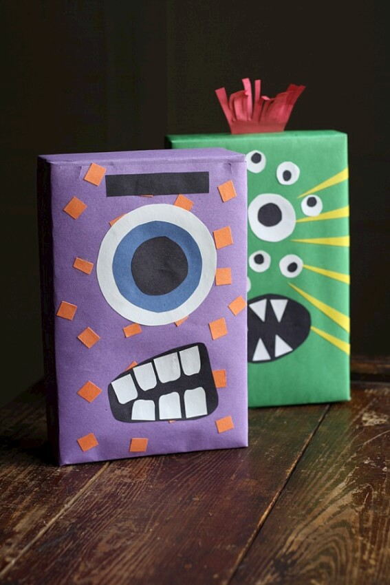 cereal box monster purple green
