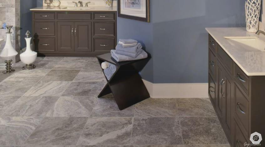 Do Bigger Floor Tiles Make Room Look Bigger