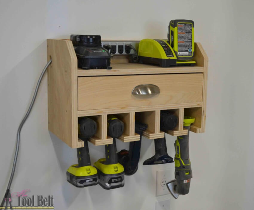 Garage Power Tool Organizer : Power tool storage ideas so you never lose them again