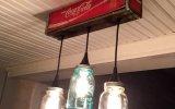 mason jar pendant lights