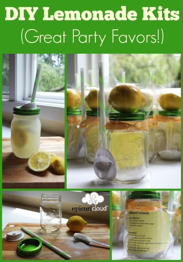 diy adult party favors lemonade kit