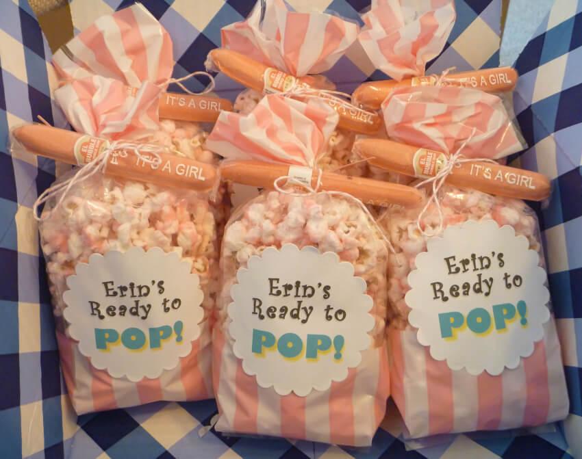 diy adult party favors popcorn