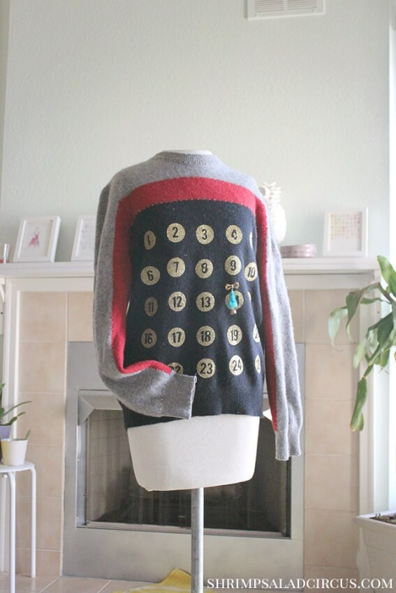 This ugly sweater idea can help you keep up with Advent.