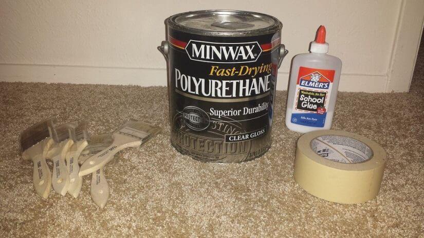 brown paper bag floor materials