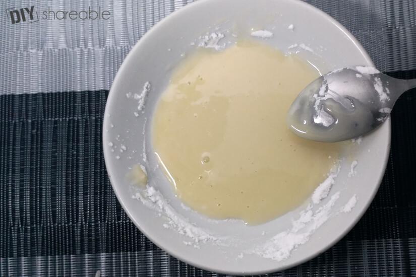 create paste from baking soda honey and lemon for mask