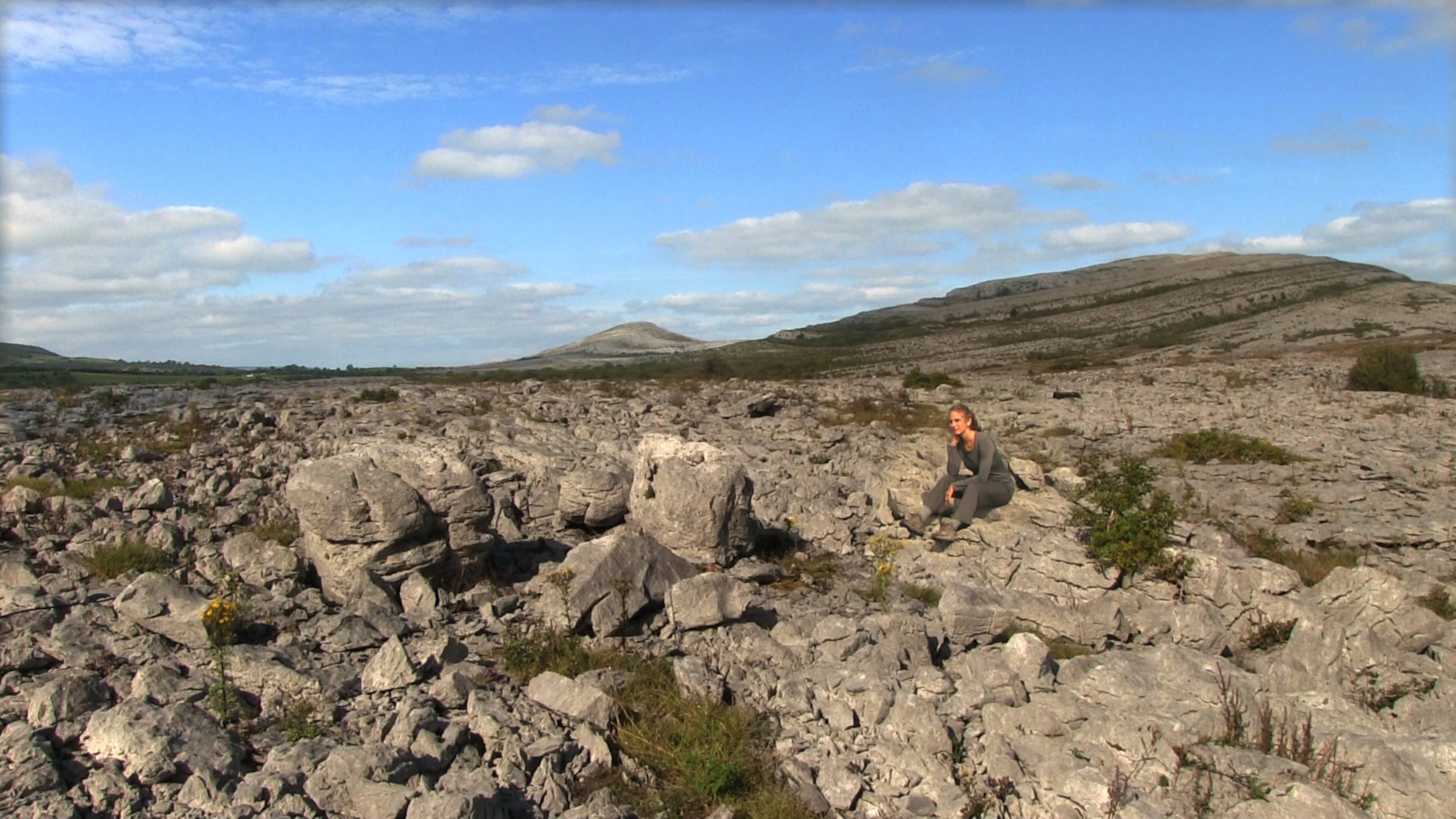 Dawn in the Burren
