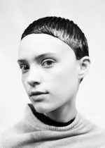 Eugene Souleiman is the visionary behind the ethereal hair in Jil Sander's latest collection