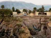 Joel Sternfeld on his photo 'After A Flash Flood, Rancho Mirage'