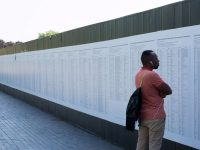Project depicting names of drowned refugees mysteriously disappears from Liverpool Biennial