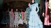 The London Fashion Week report: Victorian codes, a visit to an English garden, and ruffles abound