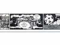 "Kerry James Marshall created comic strip with black characters to show ""it can be done"""