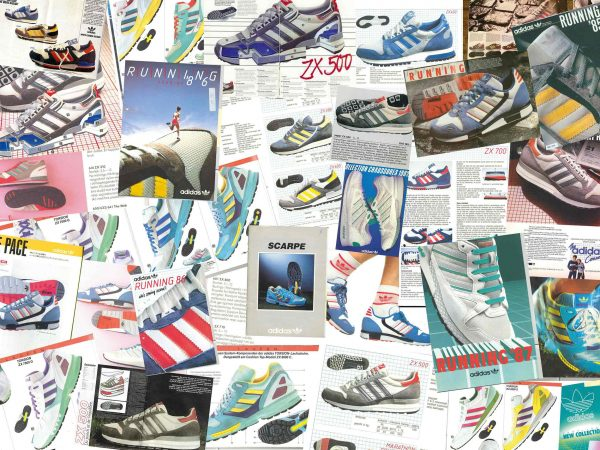 40e62e5a3 by Hannah Ongley · Adidas tracks the famed history of its ZX Runner