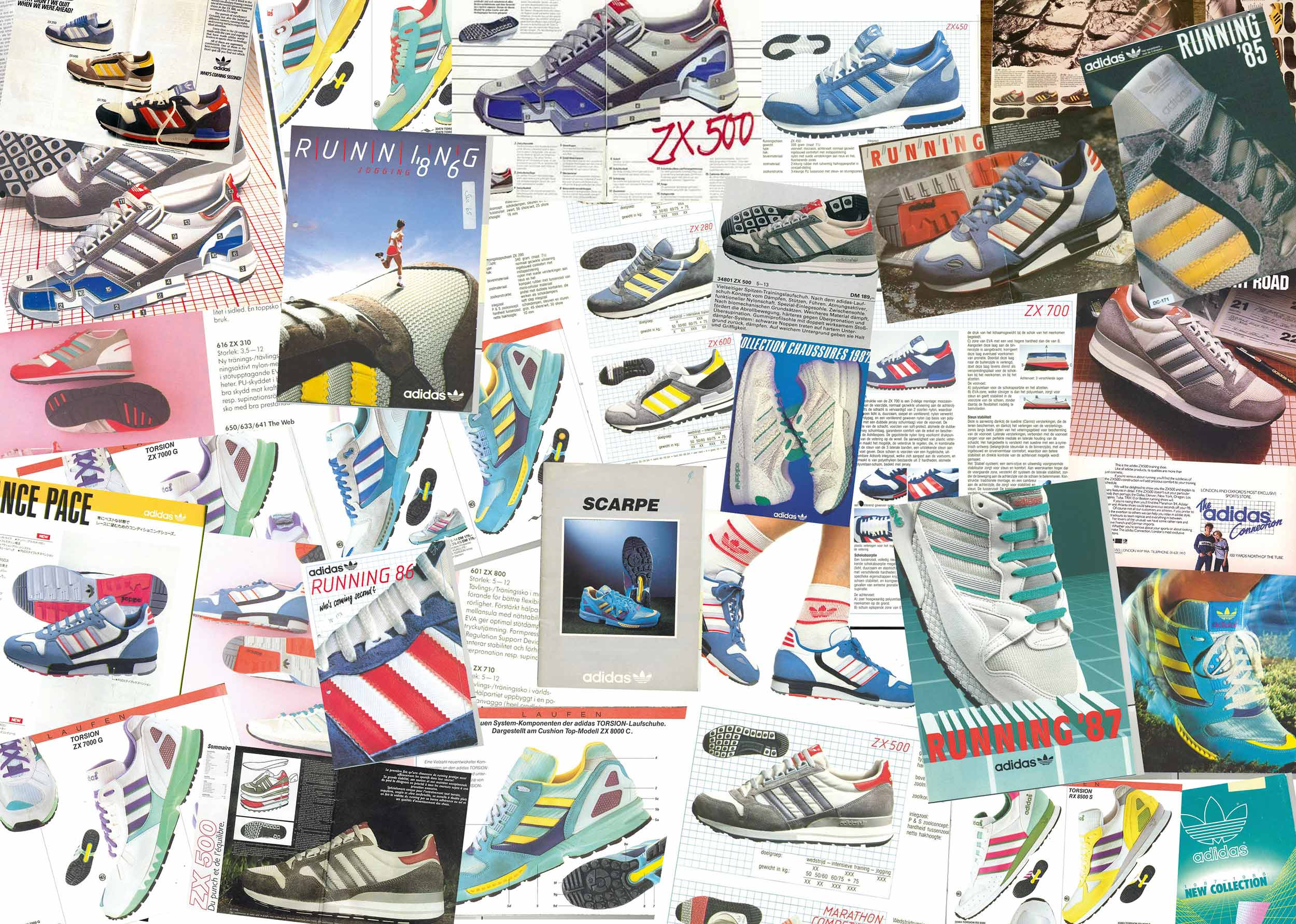 999efaf87 Adidas tracks the famed history of its ZX Runner