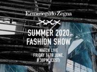 Watch the Ermenegildo Zegna XXX Summer 2020 show live from Milan