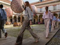 Etro's first-class hot air balloon ticket to Bohemian cool-girl wonderland