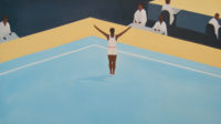 Artist Thenjiwe Niki Nkosi reveals—and defies—the white supremacist underpinnings of elite gymnastics