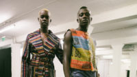 Bethany Williams challenges the UK's harmful immigration policies on the London runway