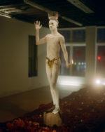 Artist Miles Greenberg performs his darkest nightmares with absurdist glamour