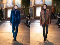 Kean Etro invites us to his family hearth with this cozy, intimate collection