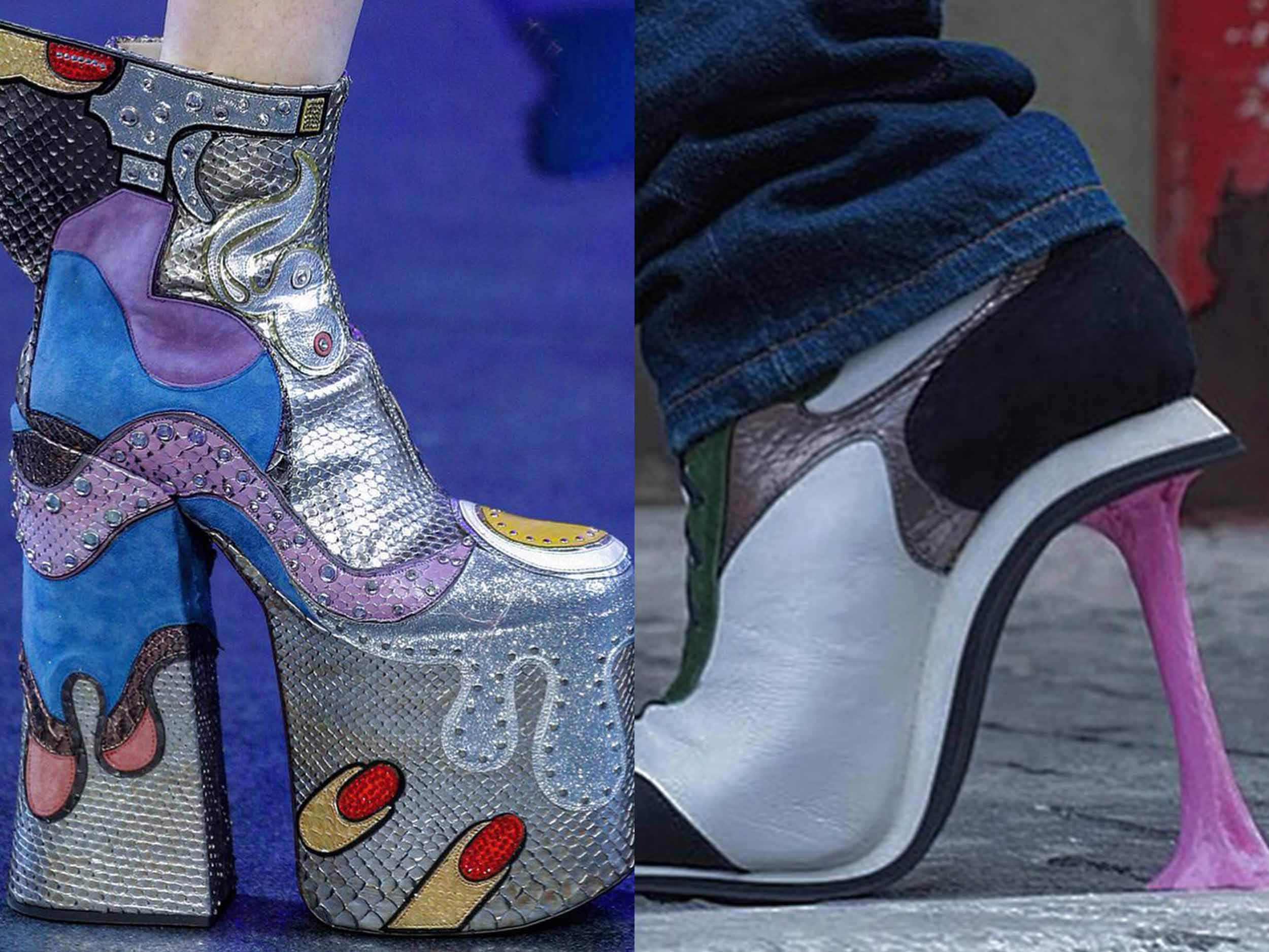 @Larslala's masterclass in fashion footwear: why these insane shoes are worth every blister