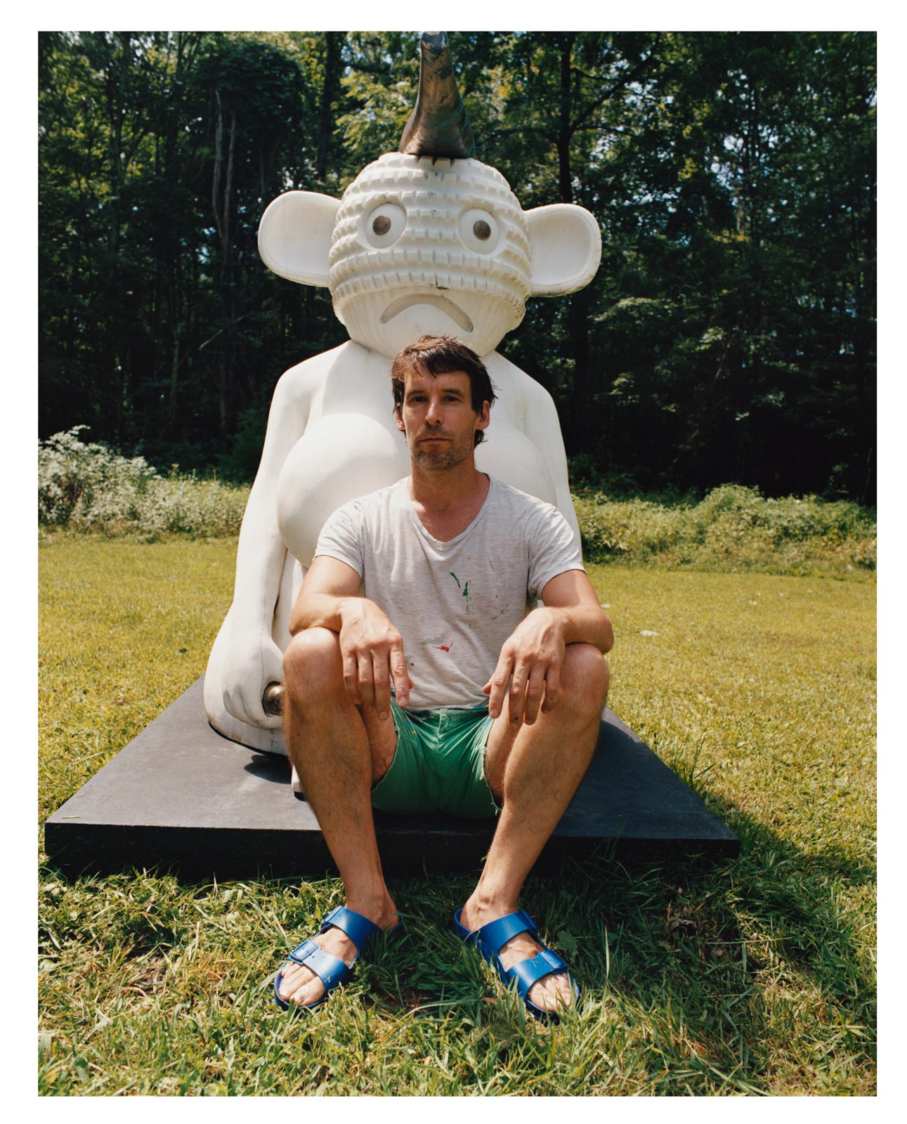 Olaf Breuning refreshes his cheeky creativity in the Hudson River Valley