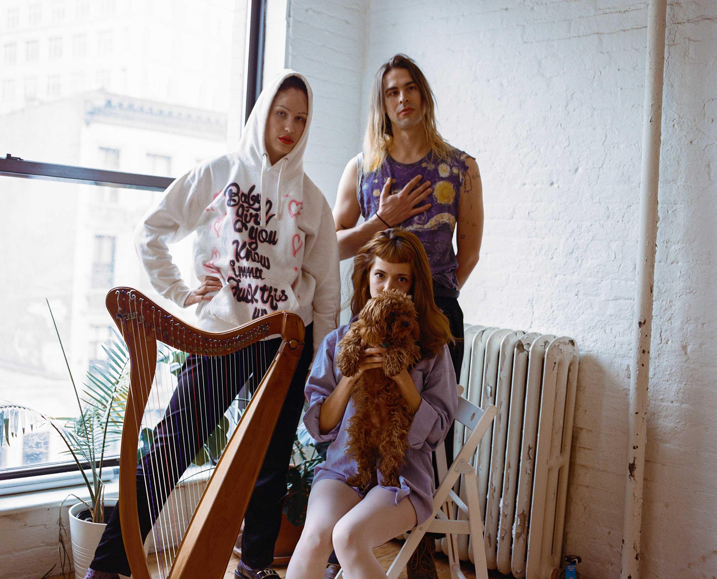 How LEYA's avant-garde harp music provided Pornhub's best film score