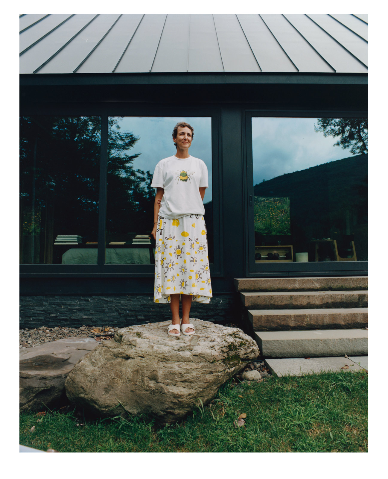 Colette founder Sarah Andelman finds sanctuary in tie-dye, nature-filled Woodstock