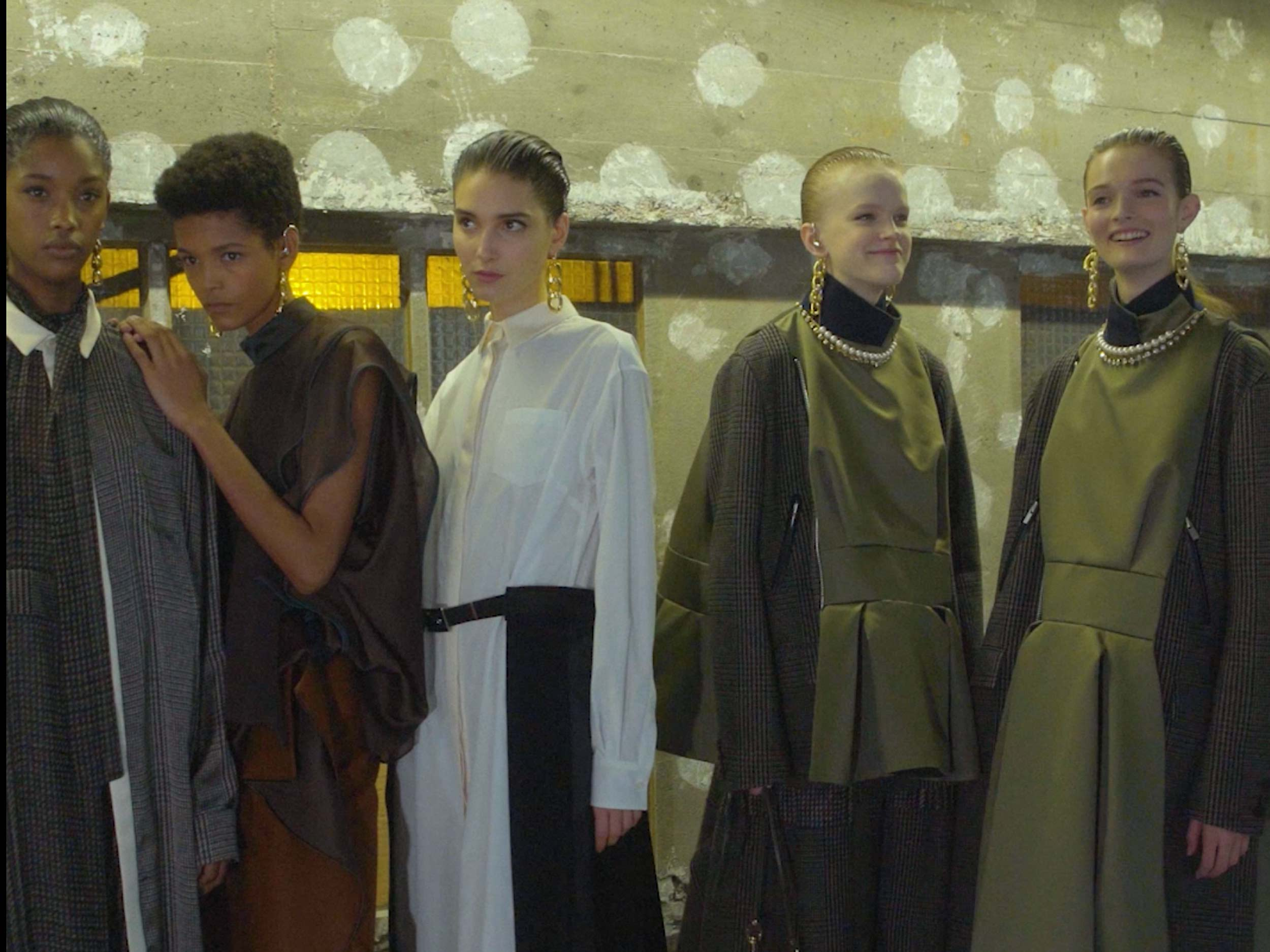 Watch sacai deconstruct all expectations of womenswear