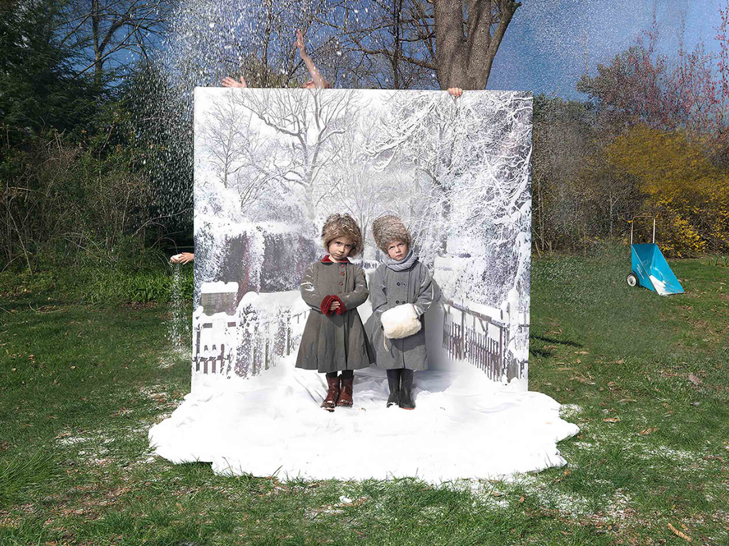 Julie Blackmon on her photo 'Fake Weather'