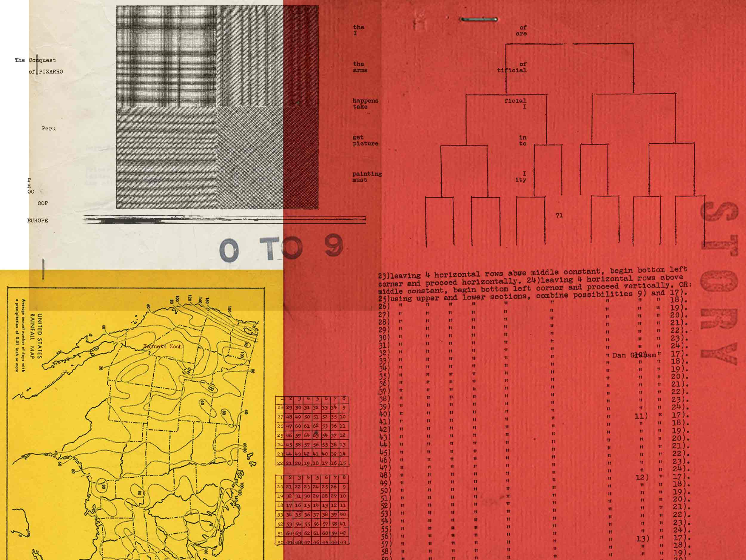 Look inside '0-9,' the radically experimental magazine that broke all the rules of language