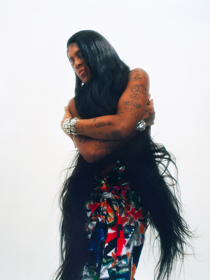 Mykki Blanco and Francesco Risso on playfulness, pussy cats, and the unsexy joys of aging