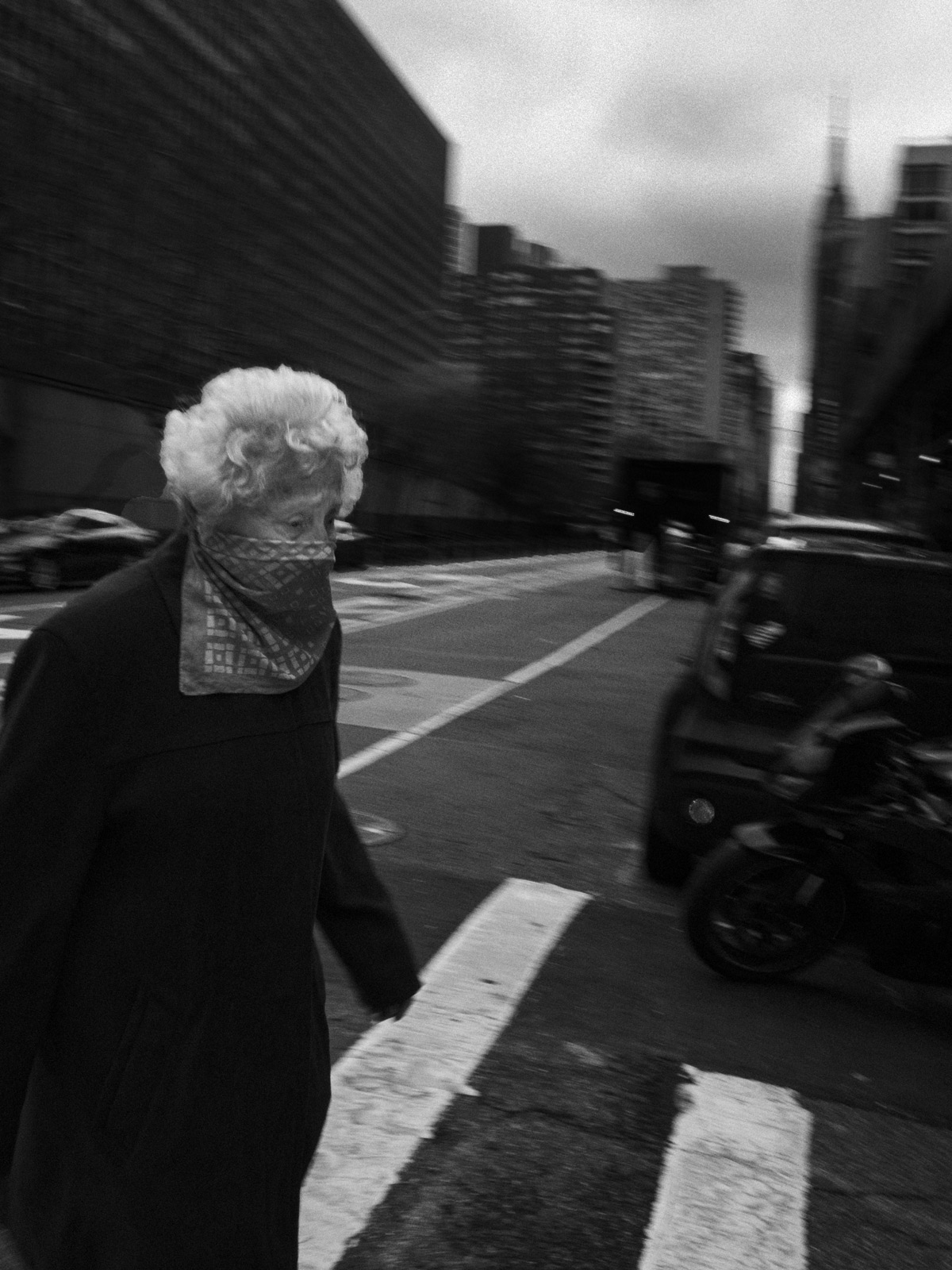 Joshua Olley captures the eerie reality of Manhattan under lockdown
