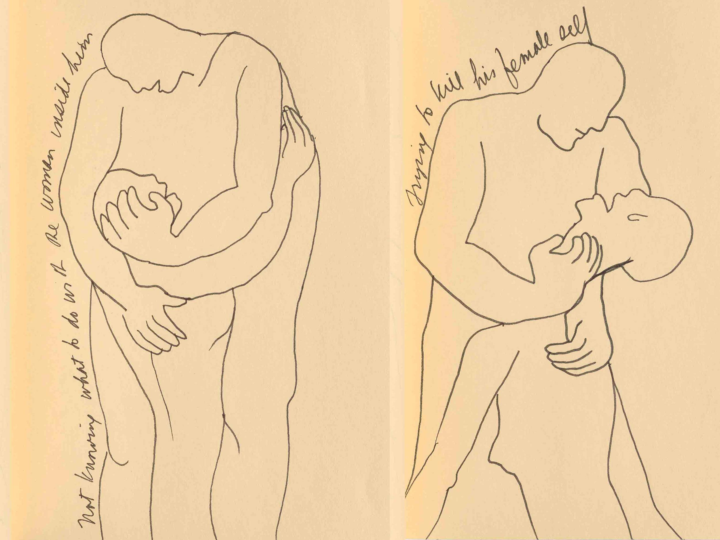 Judy Chicago's 1983 sketches still threaten the patriarchy