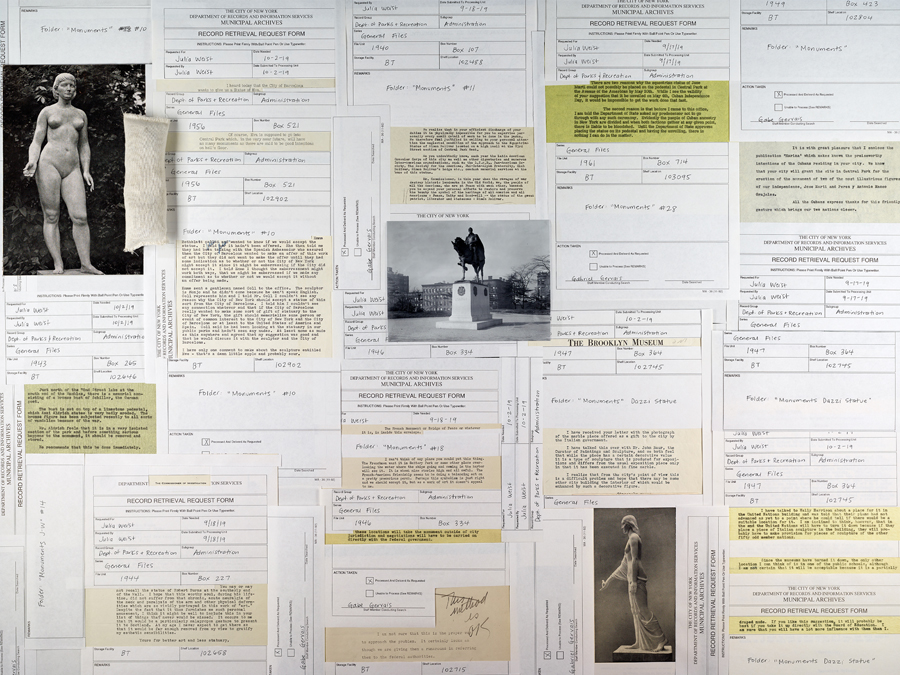 Julia Weist's 'Public Record' reveals the long history between New York City and its artists